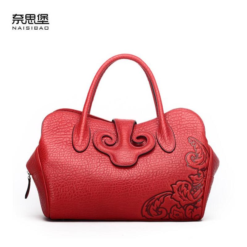 2018 new leather handbags bag handbags Chinese wind retro bag shoulder bag leather hand bag2018 new leather handbags bag handbags Chinese wind retro bag shoulder bag leather hand bag