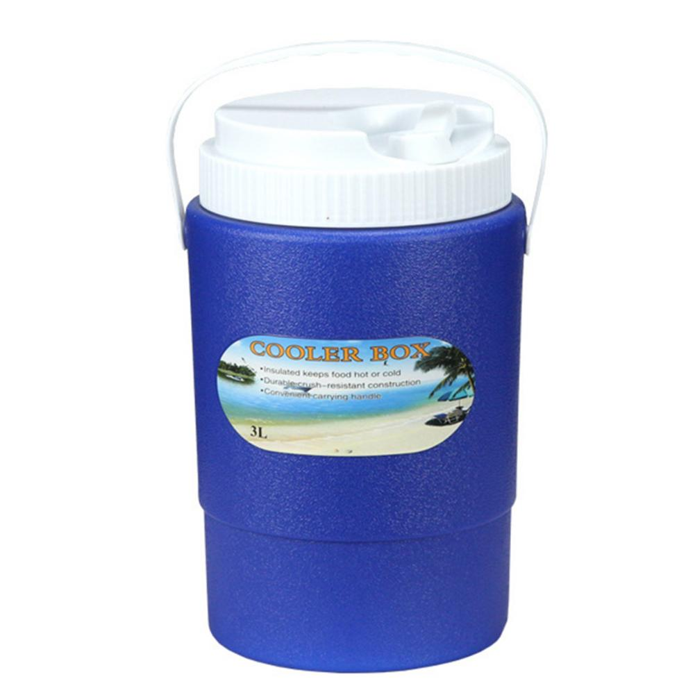 3L Insulation Box Layer Travel Portable Car Insulation Cold Box Outdoor Small Insulation Barrel Cooler Box Ice Organizer(China)