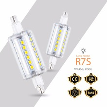 R7S Led 118mm Lamp Corn Bulb LED Tube Light 78mm 220V Lampada No Flicker 5W 10W 12W 15W Bombillas 135mm 189mm 110V