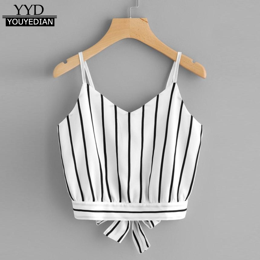 YOUYEDIAN 2018 Tank Tops For Women's Crop Tops Cami Female