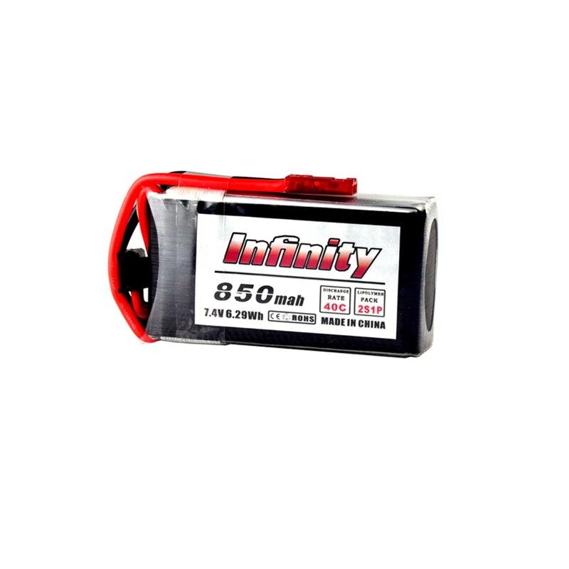 Infinity 2S 7.4V 850mAh 40C LiPo