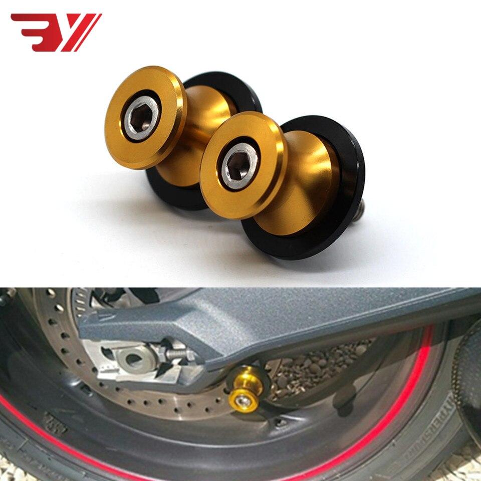 Moto Pour Honda CBR 600RR 1000RR 600 F2 F3 F4 Kawasaki Z800 ZX6R ZX10R Pour Suzuki GSXR 750 1000 M8 Bras Oscillant Bobines Curseur