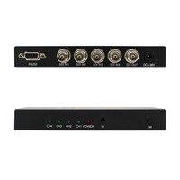 WIISTAR SDI 4x1 переключатель 4 канала SDI сигнал на 1 SDI канал сигнала Поддержка Full-HD SDI вход сигнала и выход Бесплатная доставка
