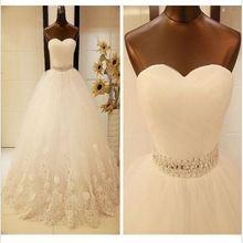 Последние элегантные свадебные платья Гламурное бальное платье