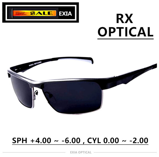 f937f1cb35 Prescription Sunglasses Polarized Men Eyewear High Quality Design Luxury  Spectacle EXIA OPTICAL KD-180 Series