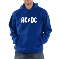 For Rock Band AC DC Sweatshirts Men Autumn And Winter Hoodie Men Printing Long Sleeve Fashion