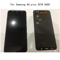 6.0'' Display For Samsung Galaxy A6 Plus 2018 LCD Touch Screen Digitizer Assembly For Samsung A6 Plus A6+ A605 A605fd lcd Screen