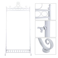 Modern Style Clothes Rack Hanging Clothing Combination Hanger Stand Garment Storage Shelf Iron Clothes Display Stand