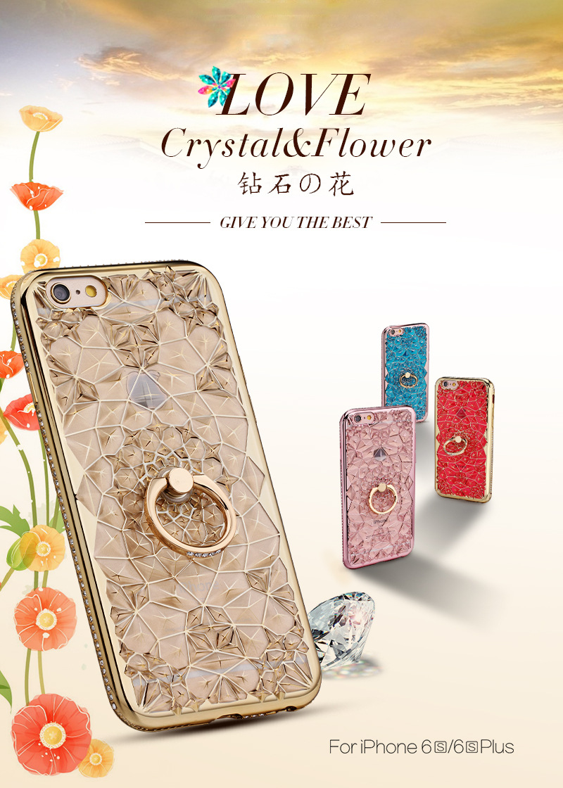 HTB1wpZNQY2pK1RjSZFsq6yNlXXa1 For iPhone 11 Pro XS Max XR Case Luxury 3D Soft Ring Capa For iPhone 5 6 6S 7 8 Plus Ring Silicon Glitter Rhinestone Stand Cover