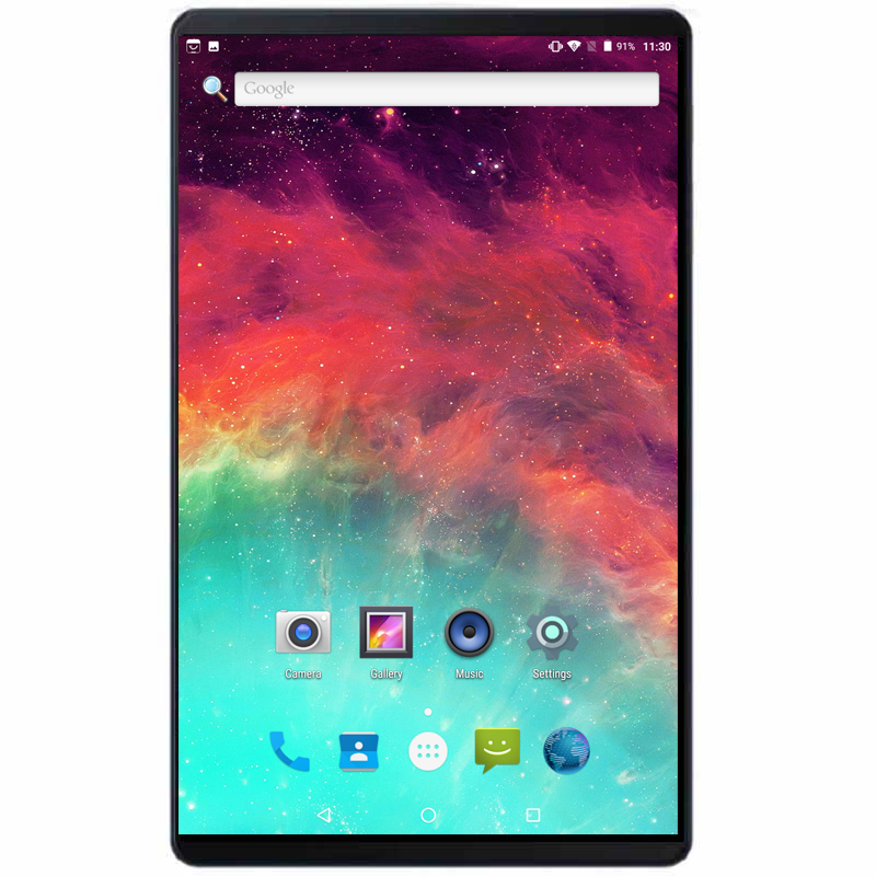 2019 Ultra mince 4G téléphone appel tablette PC Octa Core 10 pouces Full HD 1280*800 Android 8.0 4 GB Ram 64 GB Rom GPS tablettes 10.1 + cadeaux
