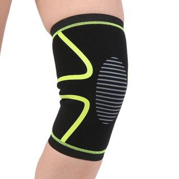 EFINNY 1 PCS Knee Support Protect Elastic Nylon Knee Pad Warm Sleeve for Men Socks