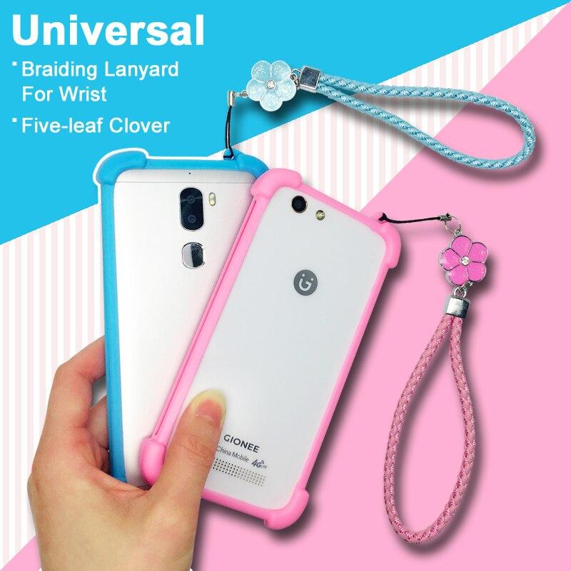 XOLO Era 3 case cover Universal Soft TPU Hand Lanyard phone Cover For XOLO Era 3X case cover Era 3 X Lady Girl Female
