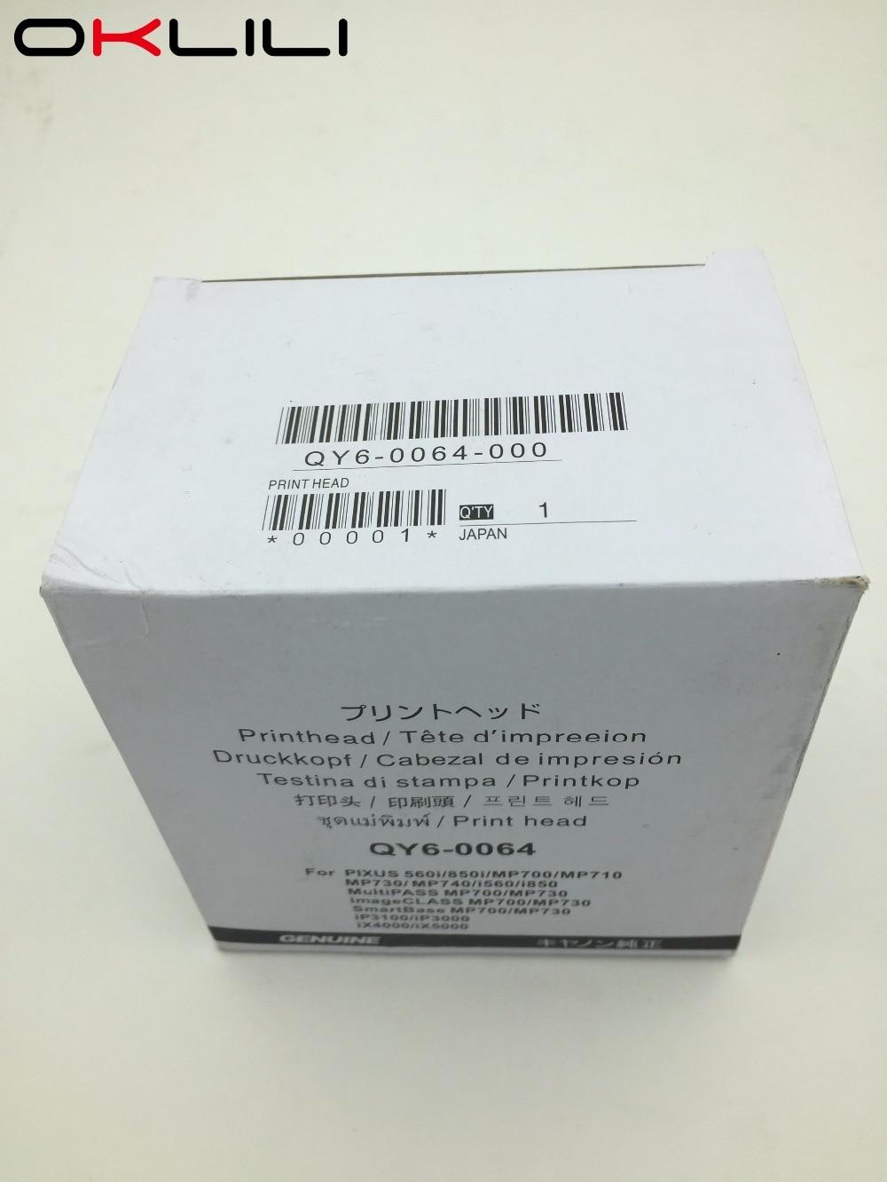 ORIGINAL QY6-0064 Printhead Print Head Printer for Canon 560i 850i MP700 MP710 MP730 MP740 i560 i850 iP3100 iP300 iX4000 iX5000