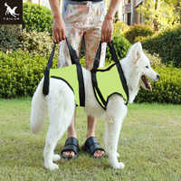 TAILUP New Arrival Front Rear Type Dog Lift Harness Elderly Sick Dog K9 Canine Aid With Handle