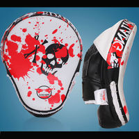 Taekwondo Muay Thai Sanda Karate MMA Boxing Glove Sandbag Punch Pads Hand Target Focus Training Circular