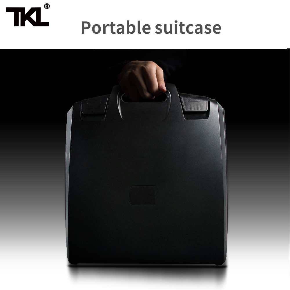 TKL 14 Channels Digital Mixer Professional DJ Sound Mixer Audio Belt Effect Mechanical Pusher Preset Scene For Stage HIFI DJ - 5