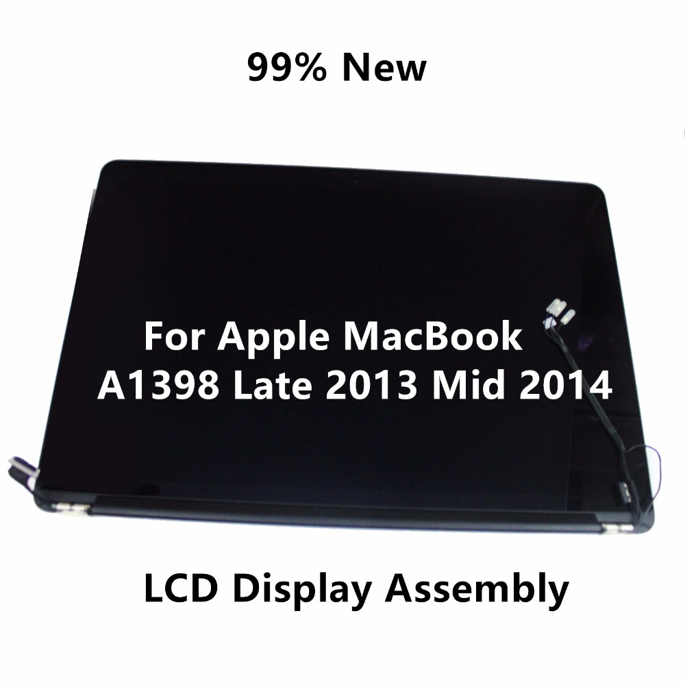 99% New Full LCD Display Retina Screen Assembly For Apple MacBook Pro 15