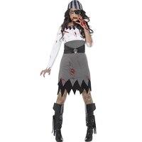 New Style Woman High Quality Demon Costume Adult Halloween Slim Fancy Dress Devil Patch Headdress Cosplay Costume W531803