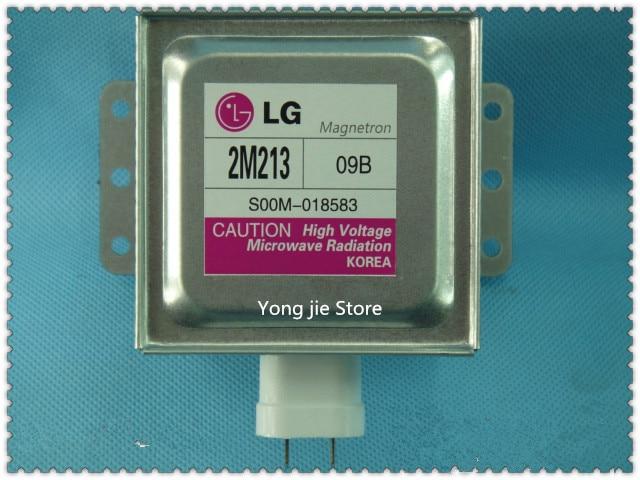 Neue 2m213 magnetron mikrowelle magnetron für mikrowellenherde lg 2m213-09b 2m213-09b0 (um die sechs-loch quer universal)