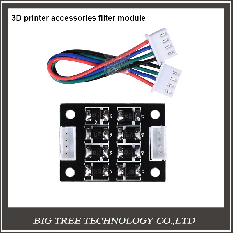 BIG TREE TECH New Arrival 3pcs TL-Smoother V1.0 New Kit Addon Module For 3D Printer Motor Driver For 3D Printer Parts pittman motor for liyu pm 3212 printer motor 9234c140 r5 printer parts