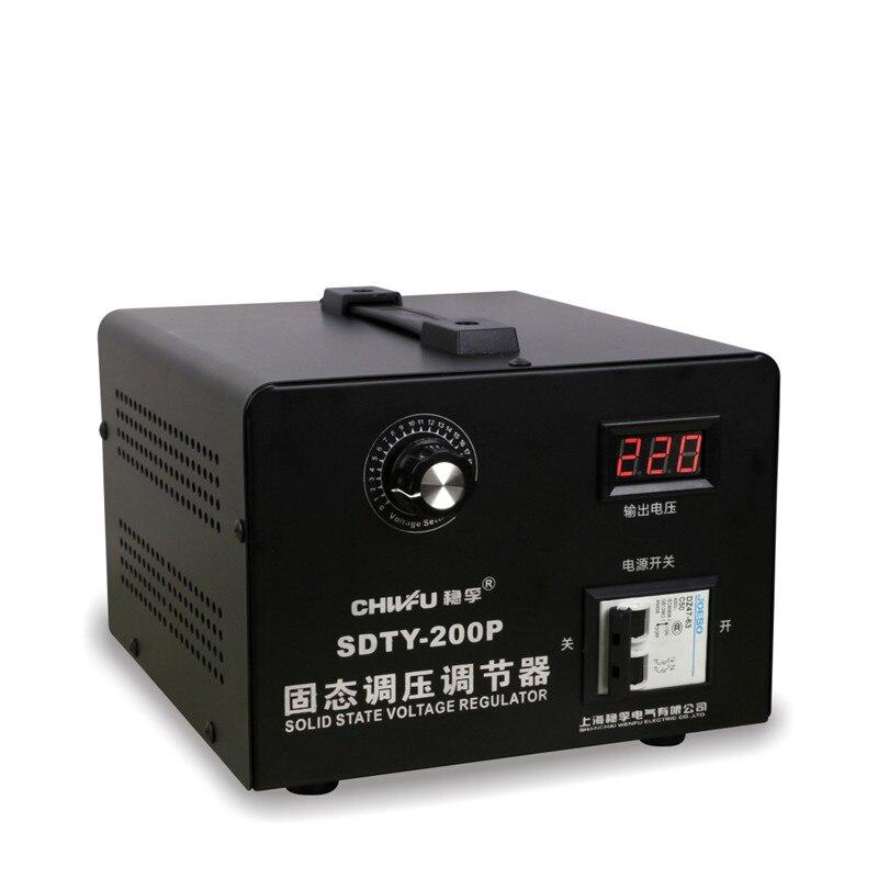 Solid state voltage regulator 220V voltage regulator high power 0 220V temperature modulation for single phase