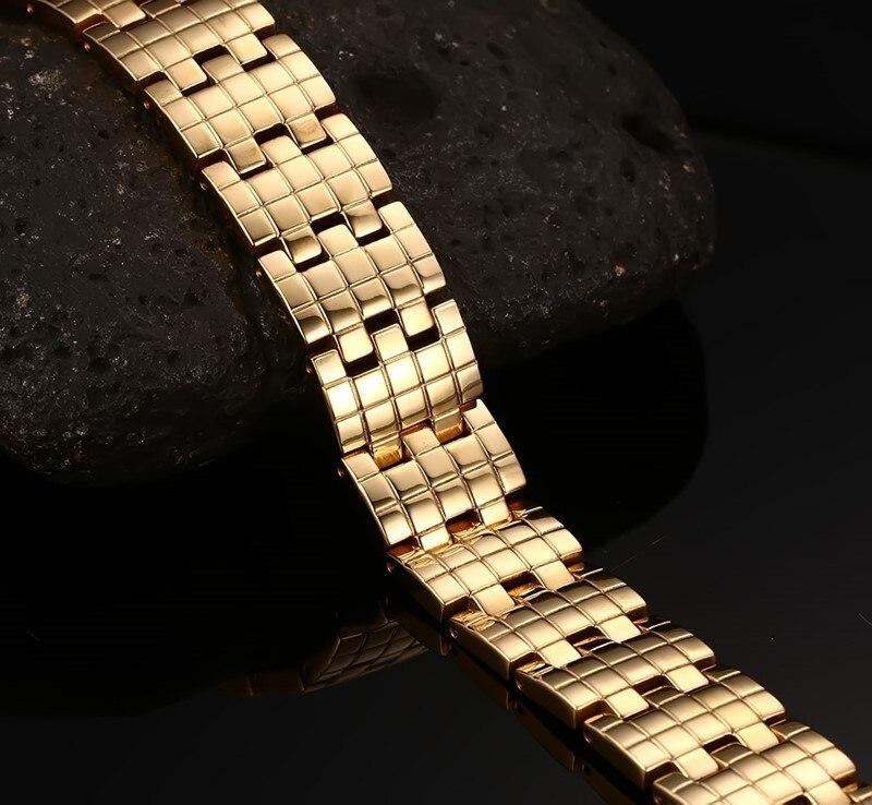Купить модные ювелирные изделия золотого цвета из нержавеющей стали