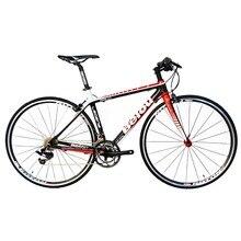 BEIOU 2016 Carbon Comfortable Bicycles 700C Road Bike LTWOO 2*10 Speed  S R A M  Brake Complete 18.3 lb Hybrid Bike Fiber CB012