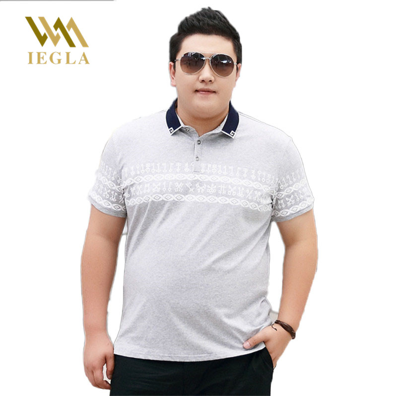 <font><b>Polo</b></font> <font><b>Men</b></font> Short Sleeve Camisa Masculina Clothing Fashion <font><b>Polos</b></font> <font><b>Shirts</b></font> Casual Style <font><b>Polo</b></font> Homme Fat Male Tops <font><b>8XL</b></font> 7XL 6XL image