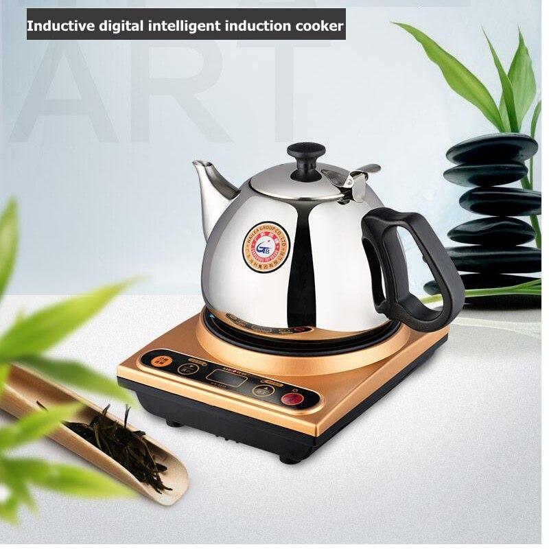 KAMJOVE A510 الكهرومغناطيسي الشاي موقد إبريق الشاي موقد الكونغ فو طقم شاي صغيرة طباخ التعريفي غلاية-في غلايات المياه من المنزل والحديقة على  مجموعة 1