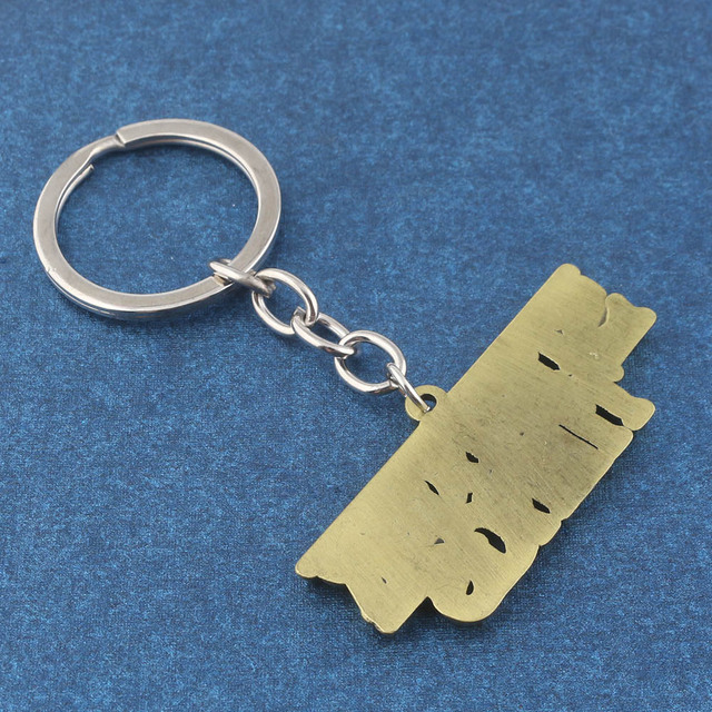 RJ New Stranger things keychains Stranger Things Letter Key Chains Pendants Free Drop shipping Men Women Keyring Souvenir Gift