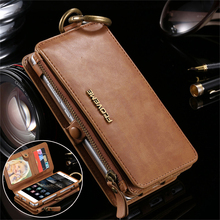 Floveme Слои кожаный чехол для Huawei Ascend P9 поступление Бизнес Роскошный многофункциональный кожаный бумажник чехол для Huawei P10 плюс