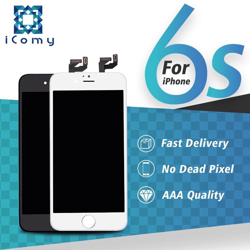 Prix pour Top qualité pas de dead pixel d'affichage pour apple iphone 6s LCD Complète avec 3D Tactile Avec Écran Numériseur Assemblée Livraison le bateau