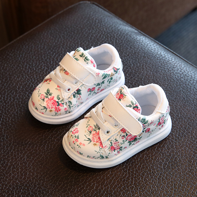 0-3y Baby Shoes Girl Soft Casual Shoes Baby Flower Girl Shoes Soft Newborn
