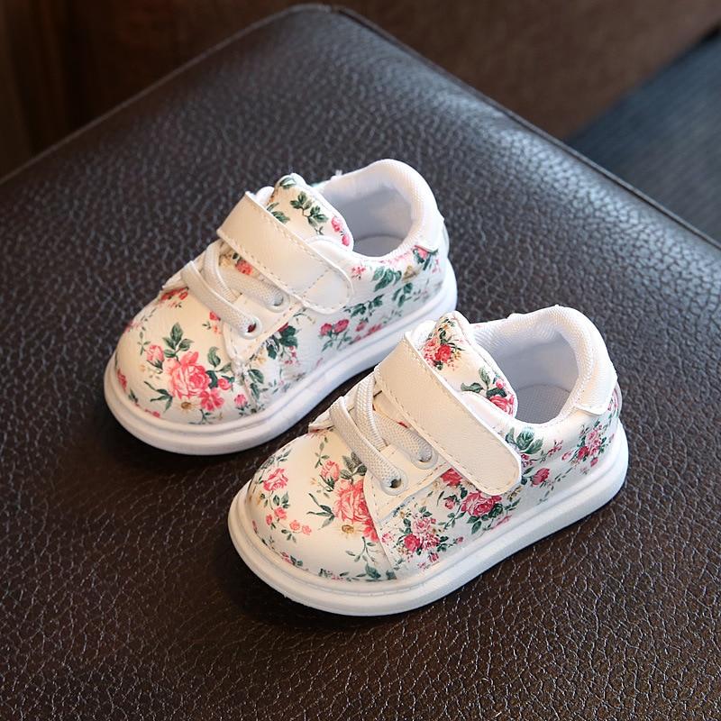 0 3y sapatos de bebe menina macio sapatos casuais sapatos de menina de flor do bebe
