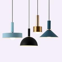 цена Nordic Macarons pendant lights Modern bedroom bedside dining room Pendant lamp Bar/cafe individual creative lighting fixtures онлайн в 2017 году