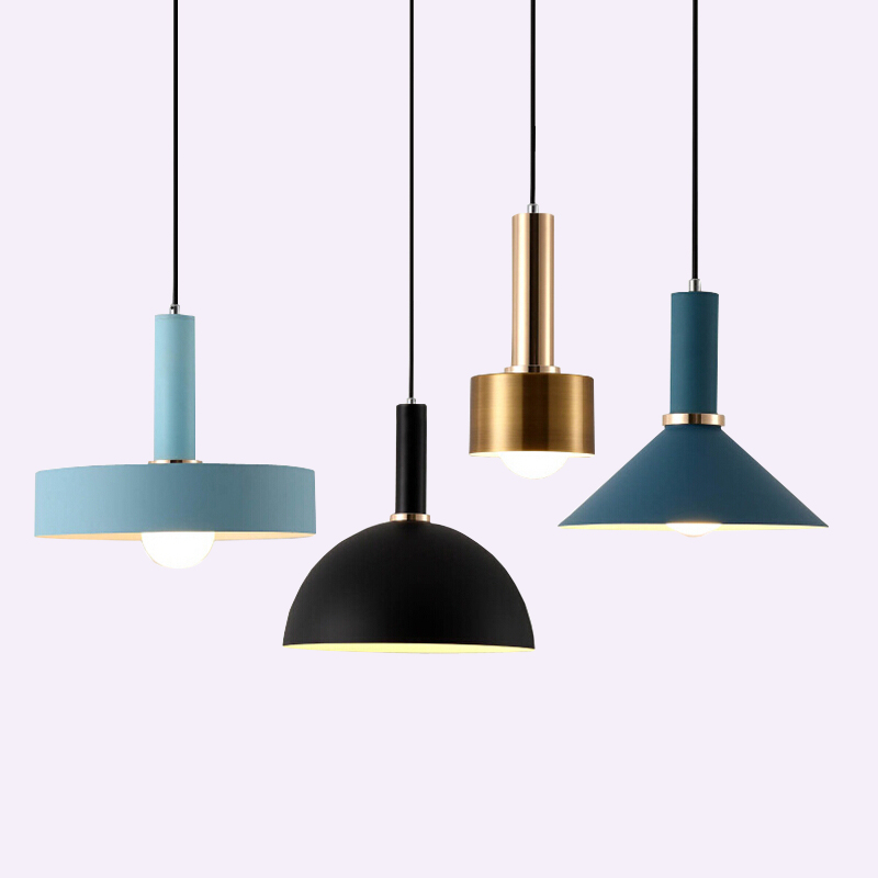 Nordic simple Pendant lights Modern bedroom bedside dining room Pendant lamp Bar/cafe individual creative lighting fixtures simple creative wood aluminum pendant light dining room bedroom lamp modern the tophams hotel cafe lighting pendant lamp