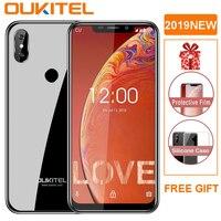 OUKITEL C13 Pro 5G/2.4G WIFI 6.18 19:9 Android 9.0 MT6739 3000mAh 4G LTE 2GB RAM 16GB ROM 8MP+5MP Fingerprint Mobile Phone ID