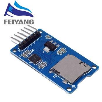 1 шт. Micro SD Плата расширения памяти Micro SD TF карта защитный модуль памяти SPI для Arduino продвижение
