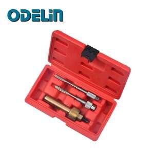 Glow Plug Puller & Reamer Kit 3pc - Engine/Diesel/Fuel