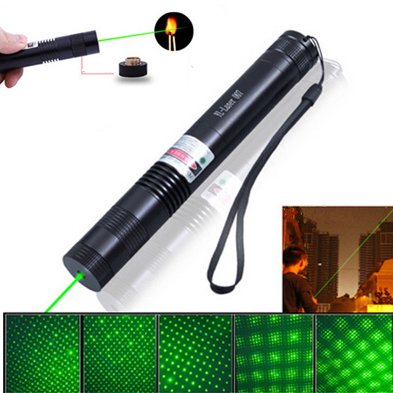 532nm 5mw green laser pointer pen continuous line 2000m light powerful visible lazer pen. Black Bedroom Furniture Sets. Home Design Ideas