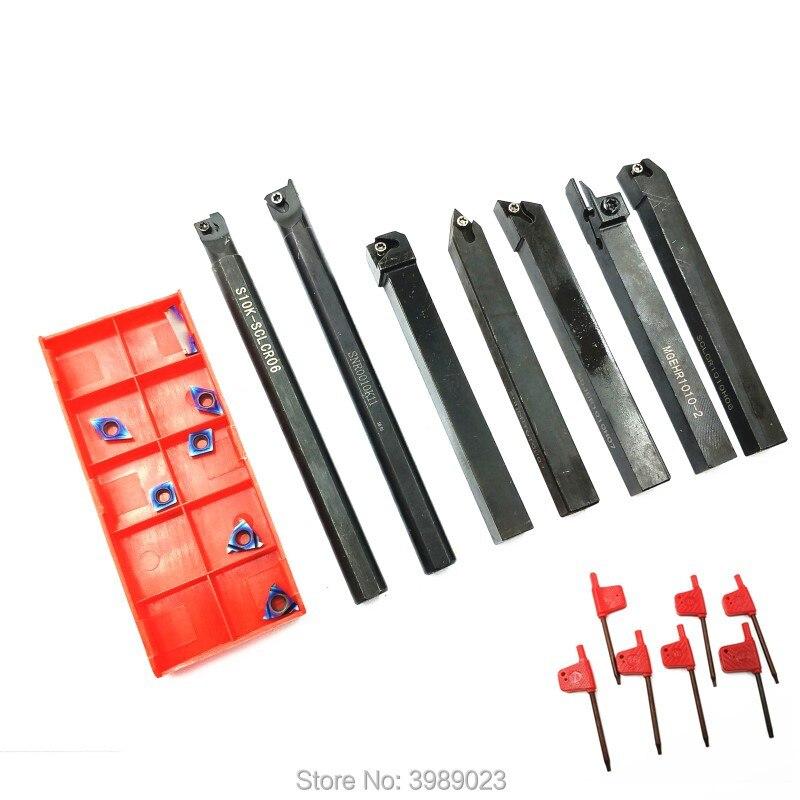 SER1010H11 MGEHR1010-2 SDJCR1010H07 SCLCR1010H06 S10K-SCLCR06 SDNCN1010H07 SNR0010K11 /7 pole +7 blade /10mm set /Blue nano coatSER1010H11 MGEHR1010-2 SDJCR1010H07 SCLCR1010H06 S10K-SCLCR06 SDNCN1010H07 SNR0010K11 /7 pole +7 blade /10mm set /Blue nano coat
