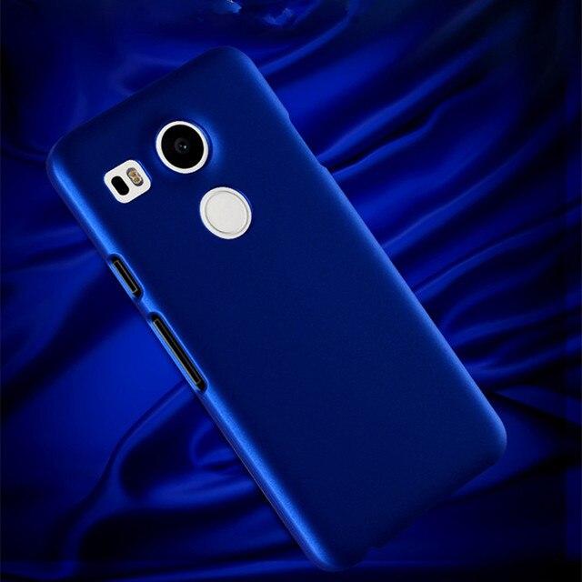 Coque en plastique de luxe en caoutchouc mat pour LG K4 K5 X220 K7 X210 K8 K10 K430DS Coque de couverture arrière de téléphone