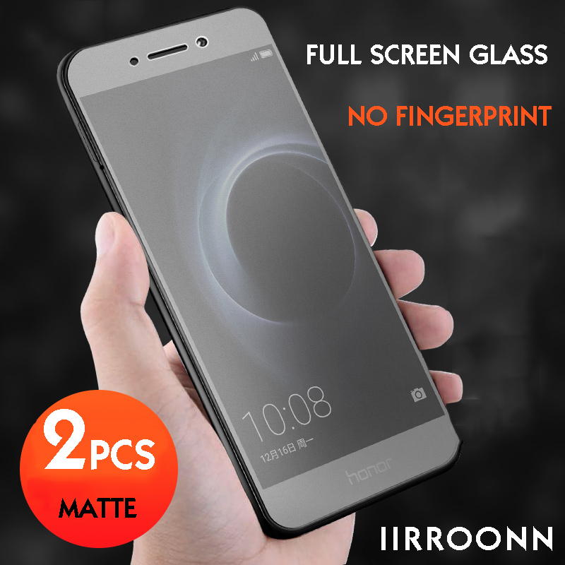 2pcs/lot Matte Tempered Glass For Huawei Honor 8 Lite Screen Protector For Honor 8 Lite Glass 6D Frosted Protective Film