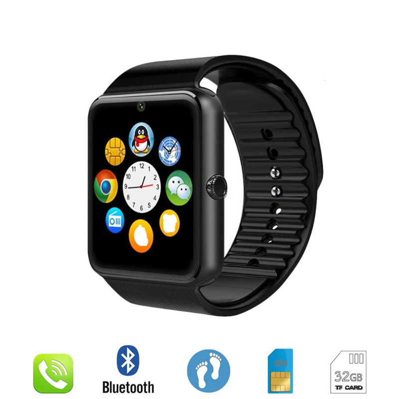 reloj inteligente hombre  GT08 Bluetooth Smart Watch for Huawei for Samsung for Xiaomi Smartwatch for Iphone Phone Call watchesreloj inteligente hombre  GT08 Bluetooth Smart Watch for Huawei for Samsung for Xiaomi Smartwatch for Iphone Phone Call watches