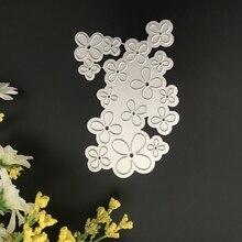 Stereoscopic Flowers Metal Cutting Dies for Scrapbooking DIY Album Embossing Folder Paper Cards Maker Template Decor Stencils