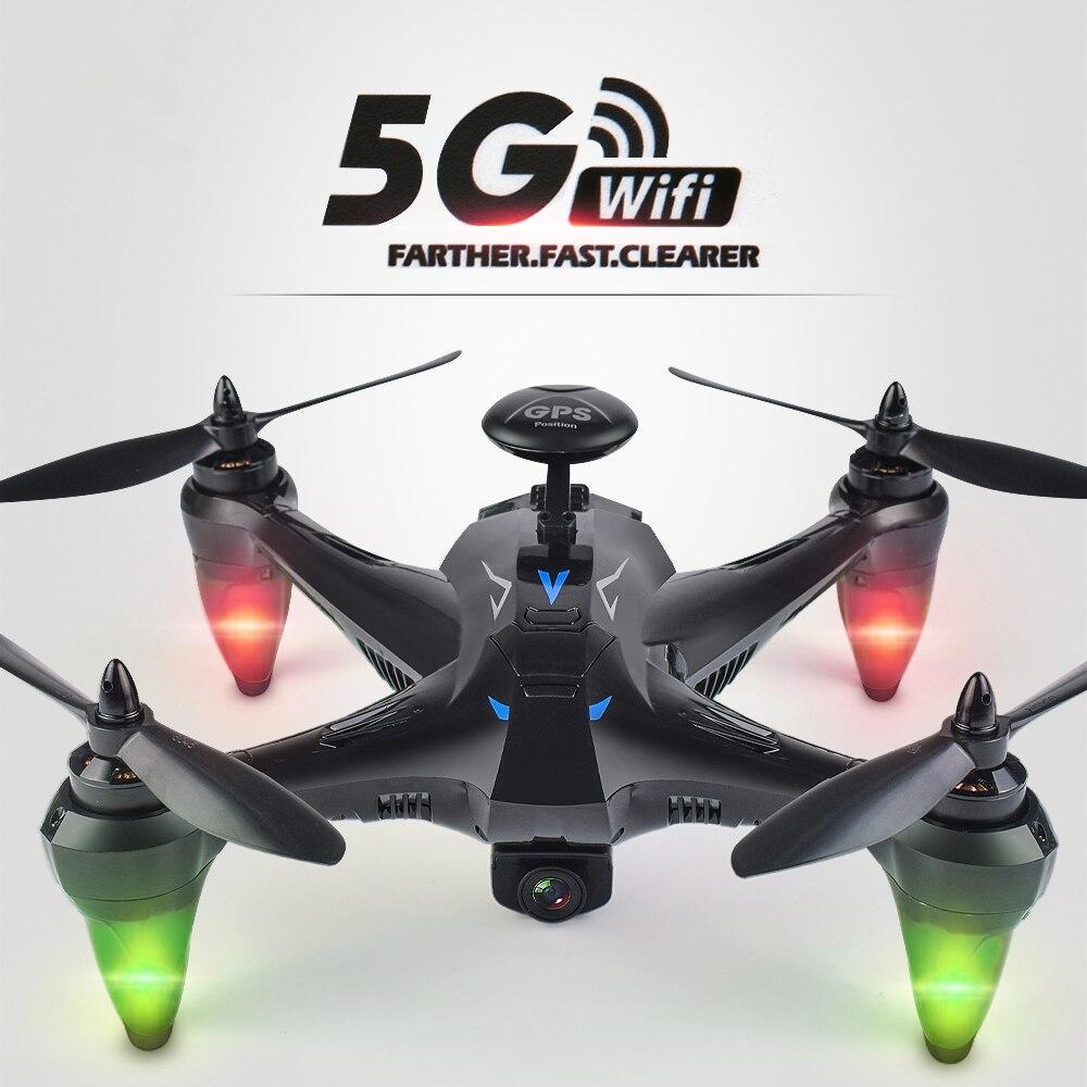Durable Professionnel Quadcopter Automatique Retour Large Angle 5G WiFi FPV Double GPS 720 P/1080 P Caméra Drones