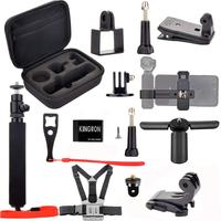 Osmo Pocket Accessories Kit Tripod Carrying Case Handheld Mount Adapter Phone Bracket Multi Function Mount For Dji Osmo Pocket