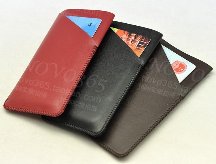 Funda de cuero de microfibra de lujo con funda para teléfono - Accesorios y repuestos para celulares - foto 3
