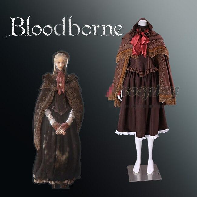 Poupée portée par le sang héroïne The Witcher sauvage chasse gothique uniforme Cosplay Costume Halloween Costume de fête pour les femmes