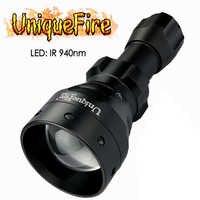 UniqueFire светодиодный светильник 1503 IR 940nm инфракрасный светильник масштабируемый фокус 50 мм выпуклая линза фонарь для ночной охоты и рыбалки